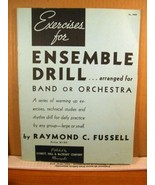 4 Music Books for Band: Ensemble Drill/Master Methods Book 2 + 3/First D... - $8.99