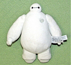 "11"" Disney Store BIG HERO 6 Plush Baymax Robot Stuffed Animal Soft White Doll  - $24.75"