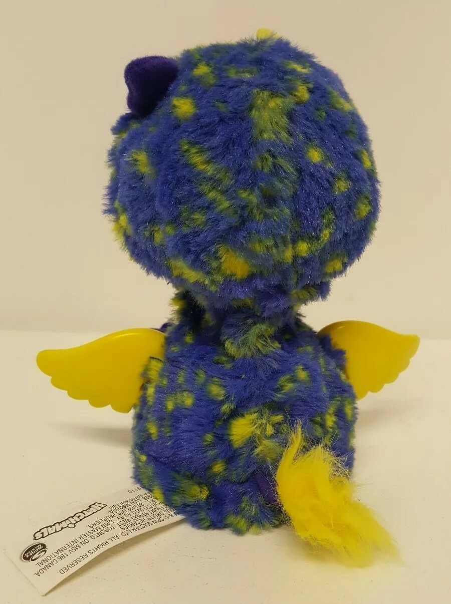 Spin Master Hatchimal Surprise Draggle Giraven Purple Yellow Hatched Wing Dragon
