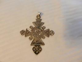 Large Silver Tone Pendant Southwestern Designs from Alpaca - $39.60