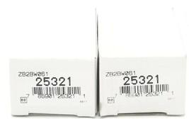 LOT OF 2 NIB TELEMECANIQUE ZB2-BW061 LIGHT MODULE ASSEMBLIES 22MM, 24V, ZB2BW061