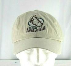Colorado Avalanche NHL Tan Baseball Cap Adjustable - $23.99