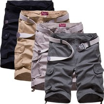 In the summer of 2018 new large size men's casual summer five pants men's casual - $34.68