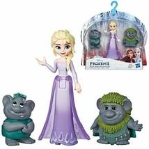Frozen 2 Elsa and Trolls Small Dolls - $16.78