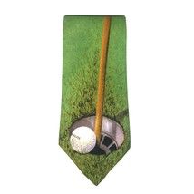 "Ralph Marlin Golf Men's Neck Tie Polyester 55 1/4"" L  3 1/4"" W BOGO 50% OFF - $23.41"