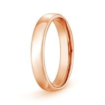 14k Gold Dome Mens Wedding Band High Polish Ring 4.5mm 5.3gm Size 6-13 - $420.42+