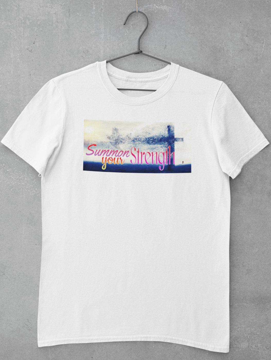 Summon Your Strength T-Shirt   Christian Apparel   Christian Shirt   Ships Free