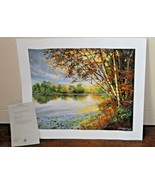 SCHAEFER & MILES LANDSCAPE ART PRINT Serigraph Lights of your Presence ... - $222.75