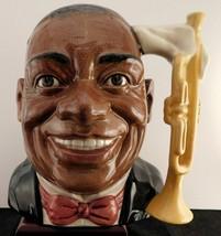 """Royal Doulton Character Jug - """"Louis Armstrong"""" D6707  - $99.74"""