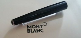 MontBlanc pen replacement spare parts Mont Blanc Upper Barrel Black Plat... - $74.67
