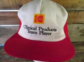 Kodak Clinical Productos Equipo Player Vintage Camionero Snapback Adulto... - $31.22