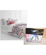 $355.00 Lauren Ralph Lauren Sophie Floral Full/ Queen Size Duvet Set, Multi - $123.75