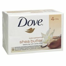Dove Beauty Bars Purely Pampering With Shea Butter And Vanilla 4 Oz. (4 ... - $11.88