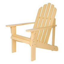 Shine Company 4618BW Marina Adirondack Chair, Bee's Wax - $126.91