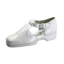 24 HOUR COMFORT Irma Women's Wide Width T-Strap Comfort Leather Shoes - $39.95