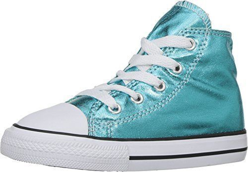 Converse Infant/Toddlers Taylor All Star Hi Top Cyan/Black/White 755555F
