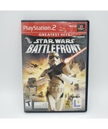 Star Wars: Battlefront (Sony PlayStation 2) PS2 TESTED complete - $11.29