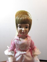 "DANBURY MINT  Porcelain Doll  10"" STORYBOOK ""MARY MARY QUITE CONTARY"" W/BOX - $31.19"