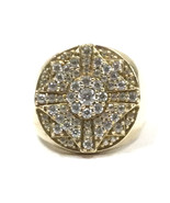 Men's 10kt Yellow Gold Cluster ring - $599.00