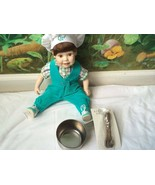 Danbury Mint Porcelain Doll- ADAM the Chef by Elke Hutchens - $38.61