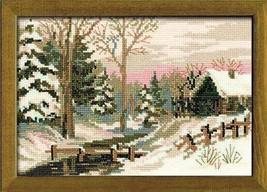 Winter Fairy Tale Cross Stitch Kit Riolis - $24.00