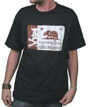 Dissizit! Mens Black or White Cigarette Calitax Stamp California Tax T-Shirt NWT image 2