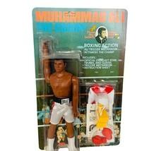 Muhammad Ali Action Figure 1976 Mego MOC Unpunched Boxing Champ robe vtg... - $742.50