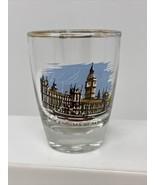 Vintage Big Ben & Houses of Parliament London England Europe Shot Glass ... - $9.89