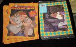 Disney Hunchback Of Notre Dame Matted Print & Burger King Adventures Mag... - $18.99