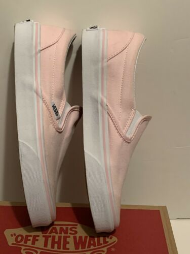 Vans Classic Blush Pink Slip On Loafers Slides Skate Authentic Womens 6.5 image 4