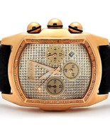Joe Rodeo King 0.36 ct Diamond Mens Rose Gold Tone Watch JKI19 - $258.39