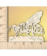 Honey Bee laser cut and engraved Magnet - $5.00
