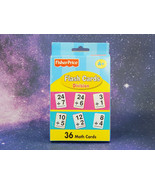 Fisher-Price: DIVISION, Flash Cards, 36 MATH Flash Cards   NEW - $7.35
