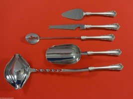 Carillon by Lunt Sterling Silver Cocktail Party Bar Serving Set 5pc Custom Made - $339.00