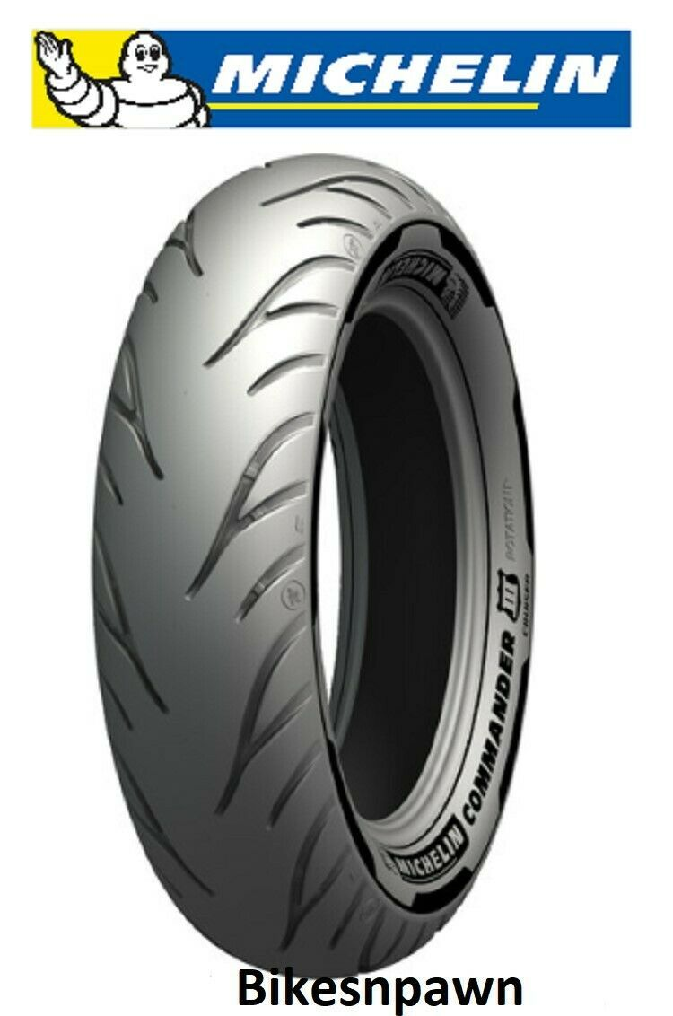 Michelin Commander III Cruiser 150/90-15 Rear Motorcycle Tire 2X Life 74H