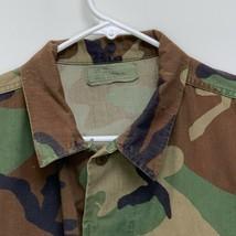 US Army Mens Uniform Shirt Camouflage Medium - $25.71