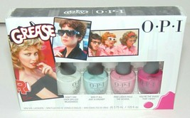 Hot!! OPI Grease Collection Nail Lacquer Mini Set of 4 Brand New Ships V... - $4.95