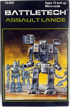 BattleTech Assault Lance Miniature figure [Ral Partha] - $265.00