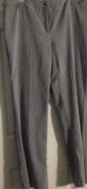 Women's Apparel Pre-owned:GRAY BUSINESS Pants SIZE 14-REG By DOTS MSRP $... - $2.97