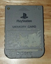 Sony PS1 Playstation Memory Card  - $13.81 CAD