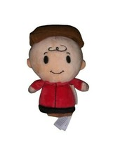 Hallmark Charlie Brown Plush Itty Bitty Peanuts Snoopy Brown Hat - $7.91