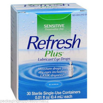 Refresh Plus Lubricant EYE Drops Moisture Lasik Dryness Dry Eyes 1 Box -... - $19.55