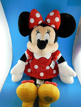 Disney Store Minnie Mouse in red vevet velour dress exclusive Mint With ... - $17.07