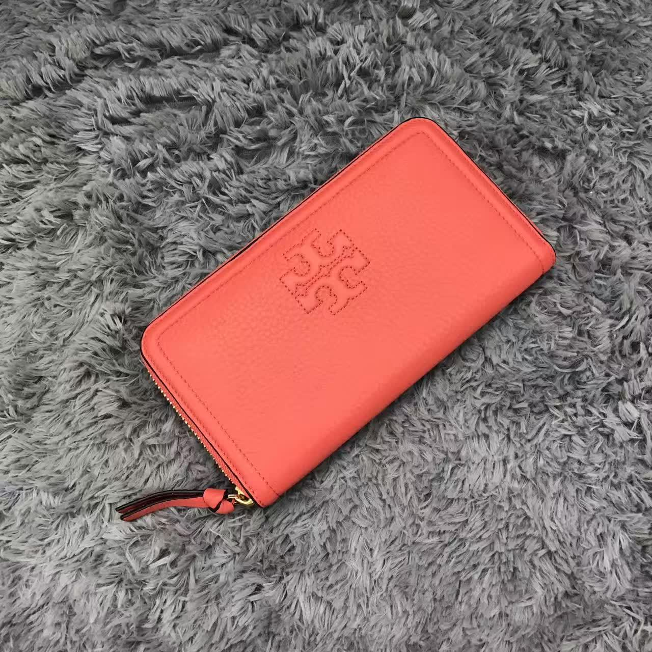 ce13818039a5 NWT Tory Burch Thea Multi-Gusset Leather Zip and 50 similar items.  Mmexport1491398745689. Mmexport1491398745689