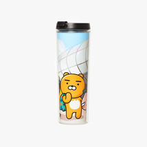 KAKAO FRIENDS Character City Clear Tumbler DDP Official Goods - $25.73