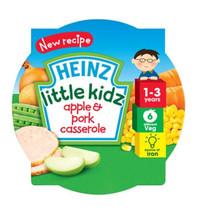Heinz 1-3 Years Little Kidz Apple & Pork Casserole 230g - $3.71