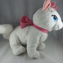 "Disney Authentic Aristocats Marie Jumbo 19"" White Cat Plush Stuffed Animal - $29.96"