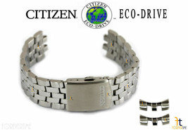 Citizen Eco-Drive AT2141-52L 21mm Stainless Steel Watch Band S083311 S08... - $111.11