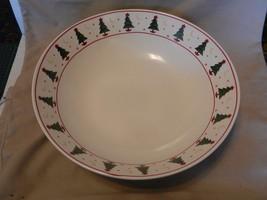 Sakura Stoneware Pasta Vegetable Bowl Magic of Santa Pattern Debbie Mumm... - $55.68
