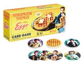 Stranger Things Kellogg's Eggo Card Game 2-6 Players 14yrs+ New in Box - $14.88